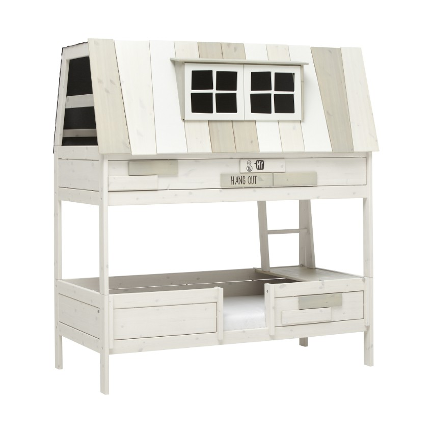 BED HANGOUT ROLBODEM WHITE WASH