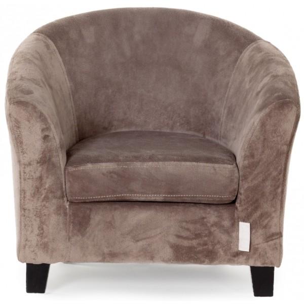 Sofa Velours Taupe