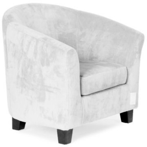 Sofa Velours Light Grey