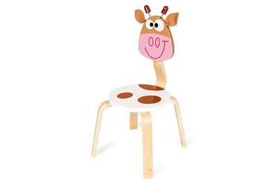 Scratch Kinderstoel Koe Marie