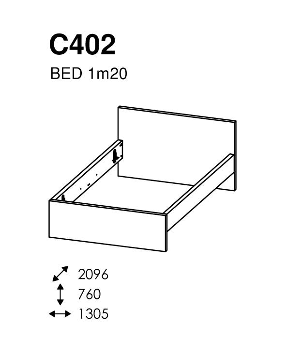 BED 120 X 200 MATCH