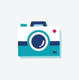 Fotokader Relief Zachtblauw