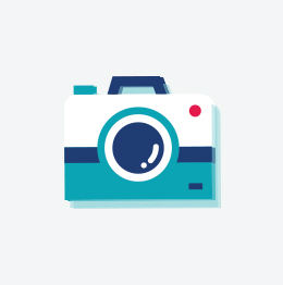 Karlsson Wekker Hexagon Concrete Petrol Blue