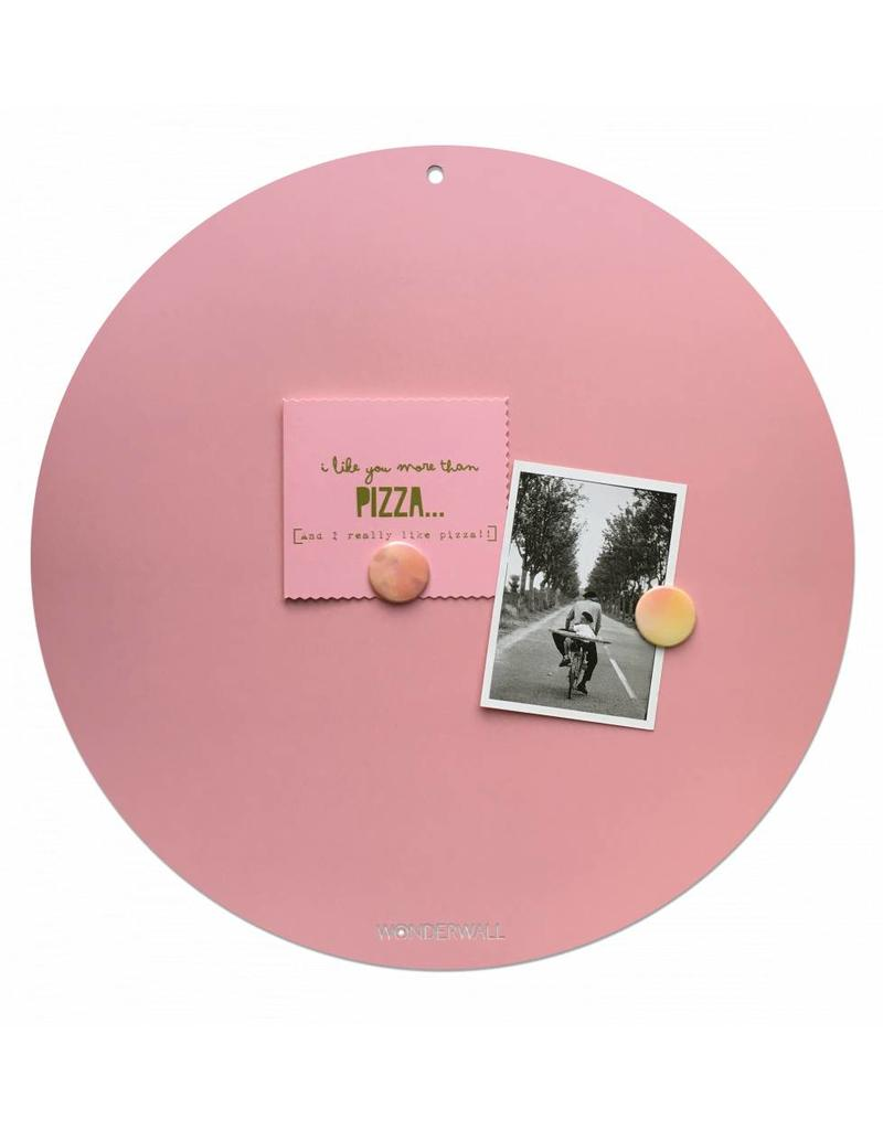Wonderwall Magneetbord Circle Of Life Pink L