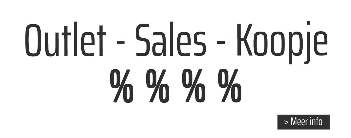 Outlet - koopjes - sales