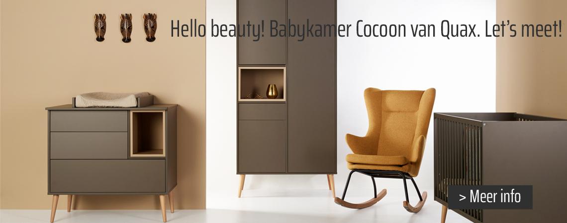 Nieuwe babykamer Cocoon van Quax