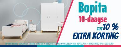 Bopita 10-daagse / tot 10% extra korting
