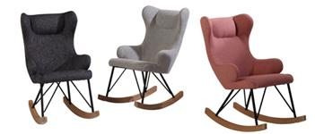 Schommelstoelen van Quax, voor de mama's en voor de kids!